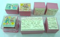 Wanxi Toy Kid stamp wooden rubber stamp