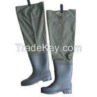nylon/PVC hip wader fly fishing wader