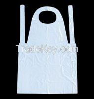 PE apron/ HDPE LDPE plastic apron/ disposable apron