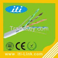 New PVC Copper braiding type cat5e indoor cable cat5e ftp cat5e lan cable