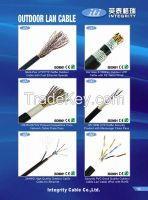 Jacket PVC Indoor Outdoor Underground telephone cable