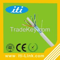 24AWG High Quality Cat6 LAN Cable Network Cable with LSZH/ LSOH Cat6 FTP Cable