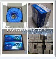 FTP Cat6 LAN Cable Fluke Passed High Quality Cat6 FTP Network Cable
