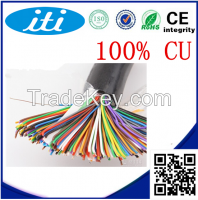 Copper 24AWG Cat3 25 Pairs Telephone Cable for Indoor