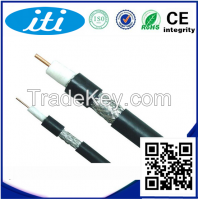 96AL braiding RG6 coaxial cable CCS conductor for satellite