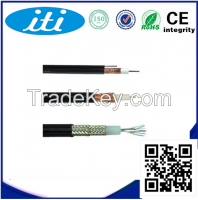 Rohs cctv copper core high quality rg59 coaxial cable manufacturer