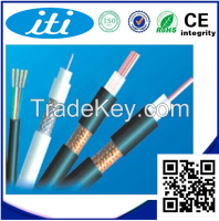 Solid Conductor Type and Insulation Material CCS Rg6 Coaxial Cable