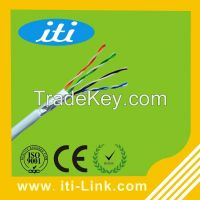 1000ft box 2 pairs 4 pairs cat5e ftp Lan cable