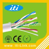 hot selling utp cat5e lan cable 4pr 24awg for computer