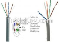 ce rohs approved 24AWG RJ45 ethernet cat5e lan cable cat5e utp cable