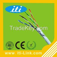 HDPE Insulation ftp Cat5e Lan Cable RoHS CE ISO Standard Ethernet Cable
