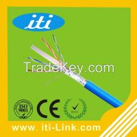 8 Number Of Conductors Bare Copper FTP Cat6 Cable for Computer