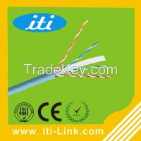 New PVC Bare Copper cat6 utp cable ethernet cable with ROHS PVC Jacket