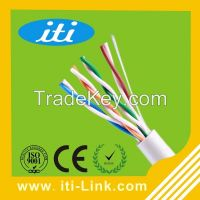 1000ft 24AWG 0.51mm CCA CU cat5e utp lan cable