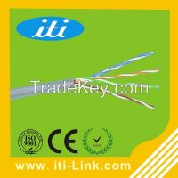 China cable1000ft 24AWG 0.51mm CCA CU cat5e utp lan cable