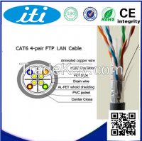 4 pairs ftp Cat6 network cable/lan cable