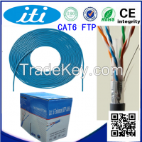 High speed utp ftp4 twisted pair Cat6 network cable