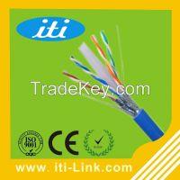 2015 wholesale cu/ccau/cca/ccs indoor/outdoor Cat6 utp/ftp/sftp lan cable