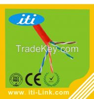Cat5e UTP 305m Box Packing Grey Blue Network Cable cat5e for internet