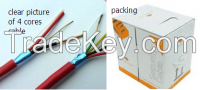 unshielded/shielded 2/4/6/8/multi-cores security alarm cable