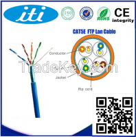 cat5e cable copper conductor 4 pair lan cable FTP Cat5e