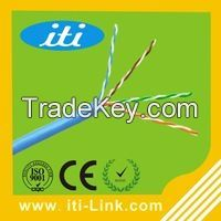 HDPE Insulation Cat5e Lan Cable RoHS CE ISO Standard UTP Cable Cat5e