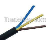 RVV insulated power cable 3*1.5mm     low voltage flexible electrical cable