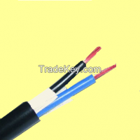 2*1.5 sqmm electrical cable Factory price RVV power cable