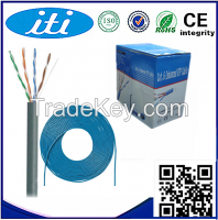 Network Cable cat5e CCA with CE Approved 24AWG UTP Cat5e for home use