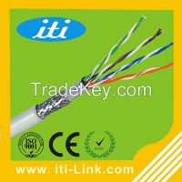 1000ft Bulk 24awg Copper 4 Pairs sftp Cat5e Cable