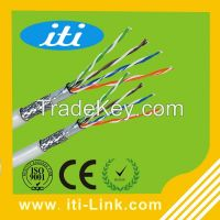 305M Bulk 24awg Copper 4 Pairs sftp Cat5e Cable for computer