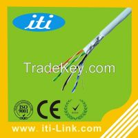 1000ft Bulk 24awg CCA material 4 Pairs FTP Cat5e Cable
