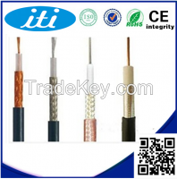New PVC CCS material RG6 Coaxial Cable For CCTV