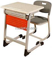 Single School Desk With Panel