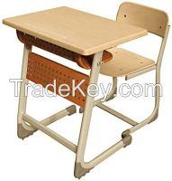 Single Student Desk With Panel