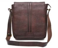 HIDEMARK TRENDY BROWN LEATHER SLING BAG