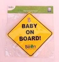 BABY ON BOARD SIGNAGE