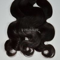 10inch-30inch Virgin Indian Remy Hair Body wave Natural Black 100g/pc