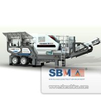 SBM Mobile Jaw Crusher