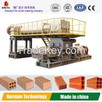 Automatic clay brick extruder machine