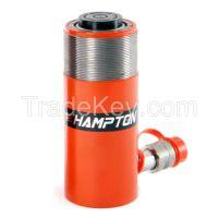 Single-acting cylinder
