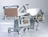 nitrocare 4 motor column model intensive care patient bed