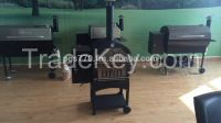 2015 New Hot-sale Wood Pellet/electric/charcoal/bbq smoker/homemade BBQ Grill