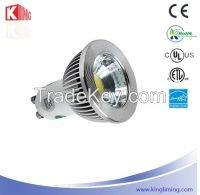 COB LED Spotlight GU10 Aluminium profile 5W/6W/7W CE, RoHS, UL, ETL Energy Star certification