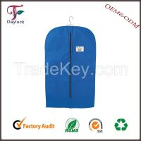 Plastic single-use cover for suit garment bags