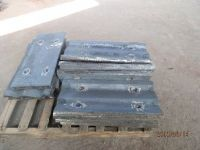 Cast Alloyed Crusher Wear Parts