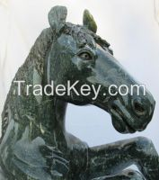 Rearing Stallion Sculpture