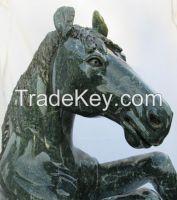 Rearing Stallion Sculpture