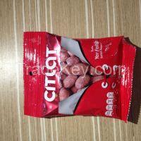 Nuts inside of packs