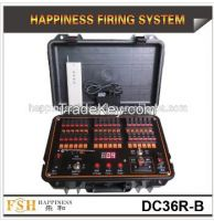 36 Channels waterproof & rechargeable case,400M remote control system,Happiness Fireworks System, pyrotechnic firing system